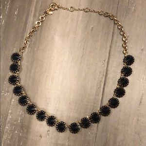 Banana Republic Necklace Navy and Gold
